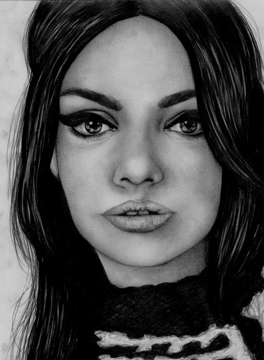 Mila Kunis by AffichE